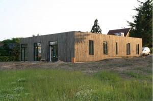 2020-huset er et lavenergihus i moderne arkitektur.