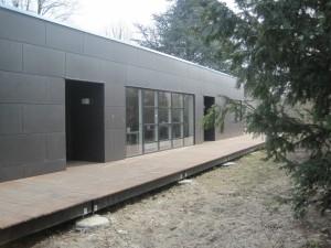 Modulbyggeriet til Hendriksholm Skole er tegnet af arkitekter fra Rødovre Kommune.