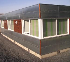 I konstruktionen er der taget højde for at kunne udvide byggeriet med en overetage.