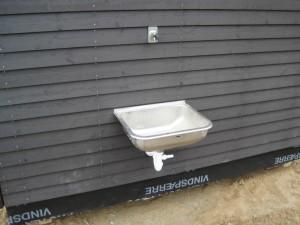Udvendig udslagsvask